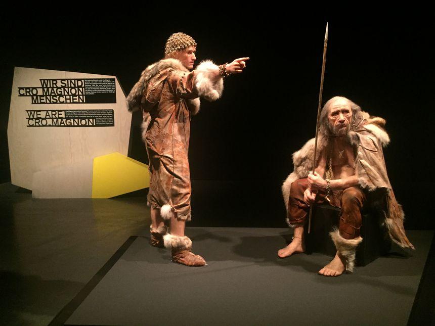 La mise en scène de l'expo Lascaux 3 à Munich