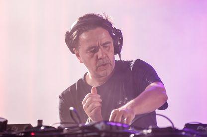 Laurent Garnier en juin 2018 au Sonar Music Festival à Barcelone en Espagne
