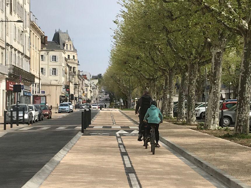 La piste cyclable de Périgueux