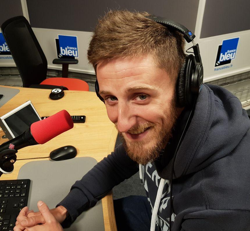 Julien Barret, animateur pour La Fédération de Haute_Vienne pour la Pêche et la Protection du Milieu Aquatique.