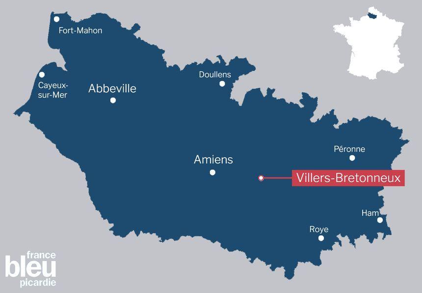 Le mémorial national australien se trouve à Villers-Bretonneux.