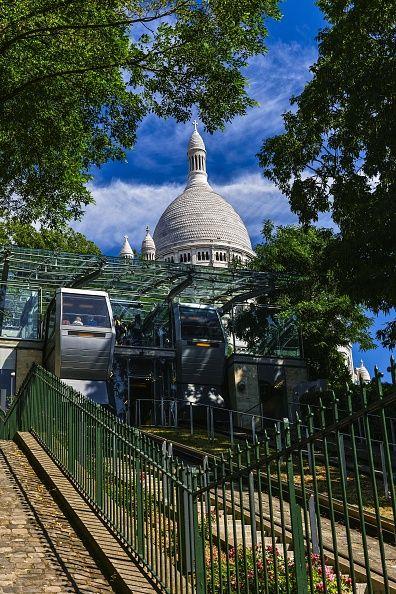 Le funiculaire actuel de Montmartre
