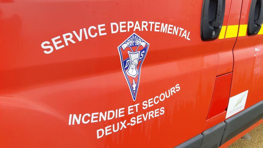 Le feu a pris sur le poids-lourd vers 11h à Secondigny