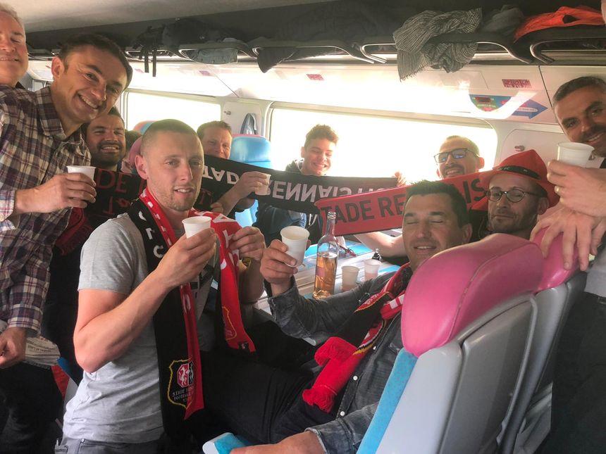 Ces amis avaient déjà fait le voyage à Londres pour Rennes - Arsenal