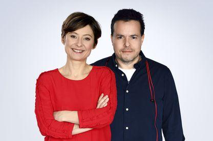 Nicolas Demorand et Alexandra Bensaid (image émission)