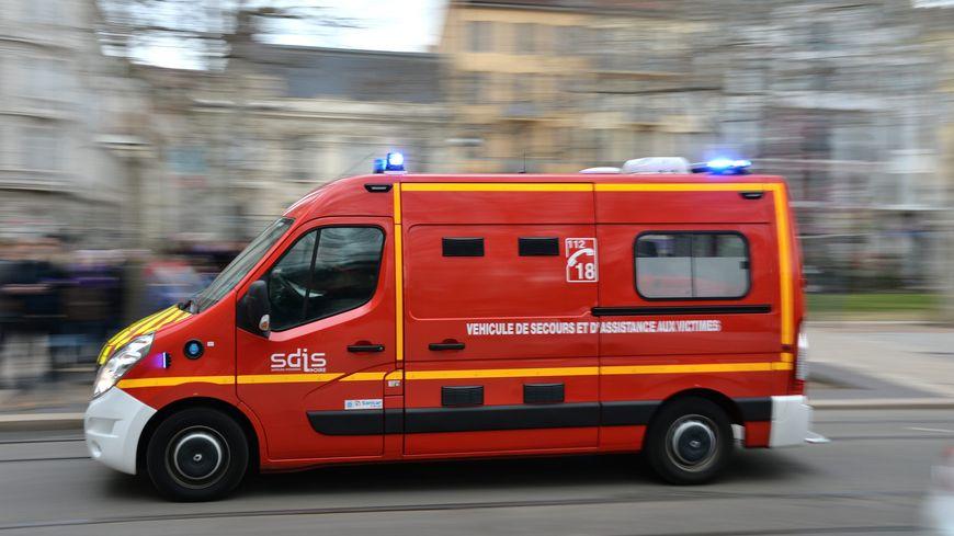 A l'arrivée des pompiers, les automobilistes étaient déjà sortis de leurs véhicules