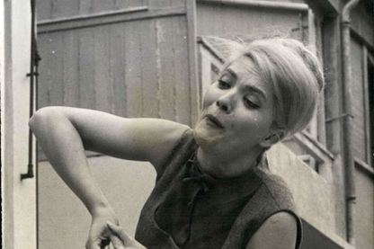 L'actrice Corinne Marchand, le 13 décembre 1962