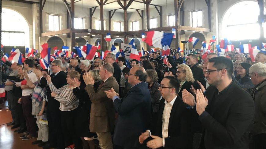 Les militants du Rassemblement National étaient venus de toute la région Centre Val de Loire