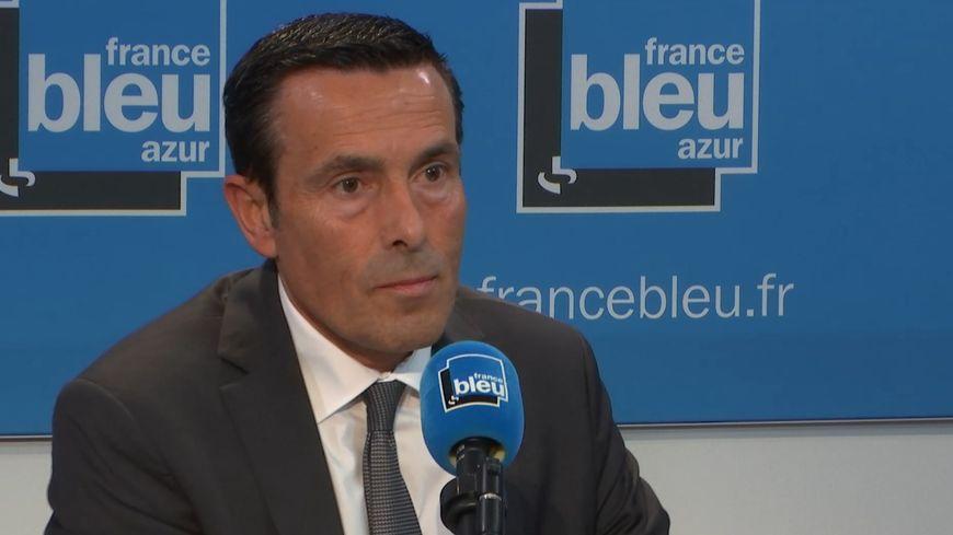 Jean-François Illy, directeur de la police du 06 dans le studio de France Bleu Azur Matin