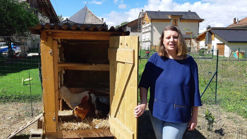 Hélène et ses poules