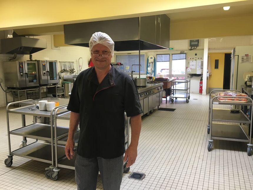 Fabrice Siblot, le chef cuisinier de l'Ehpad de Volvic