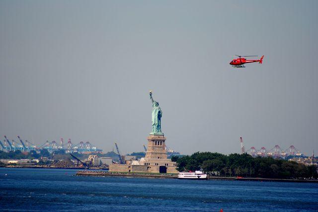 Pour découvrir New-York vu du ciel.