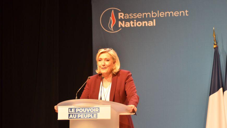 Marine Le Pen veut continuer à défendre la ruralité