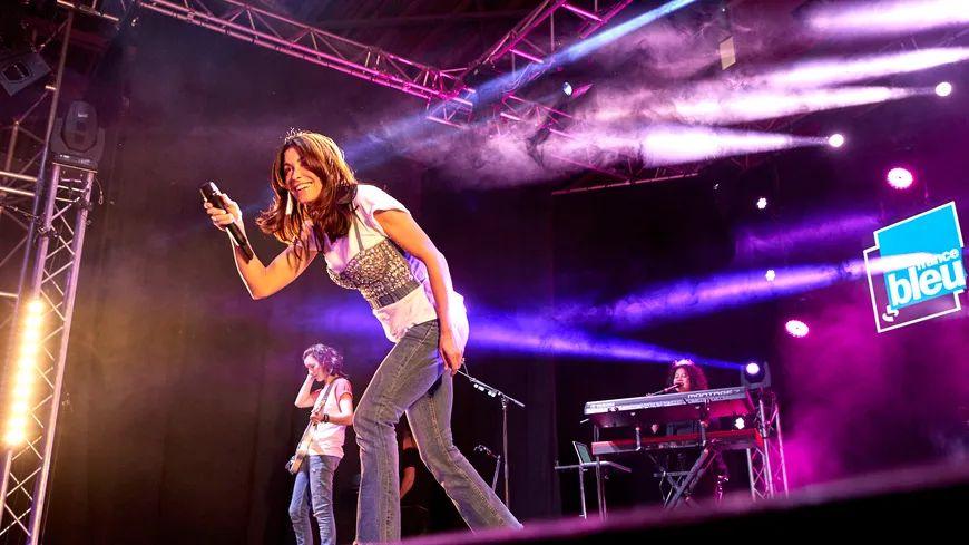 Jenifer en concert au France Bleu Live Festival des 2 Alpes