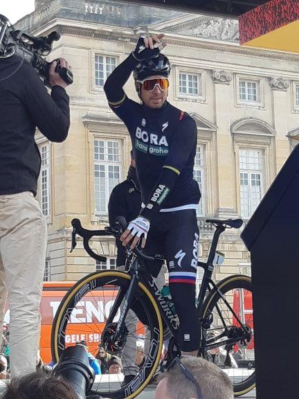 Peter Sagan, triple champion du monde et tenant du titre du Paris-Roubaix