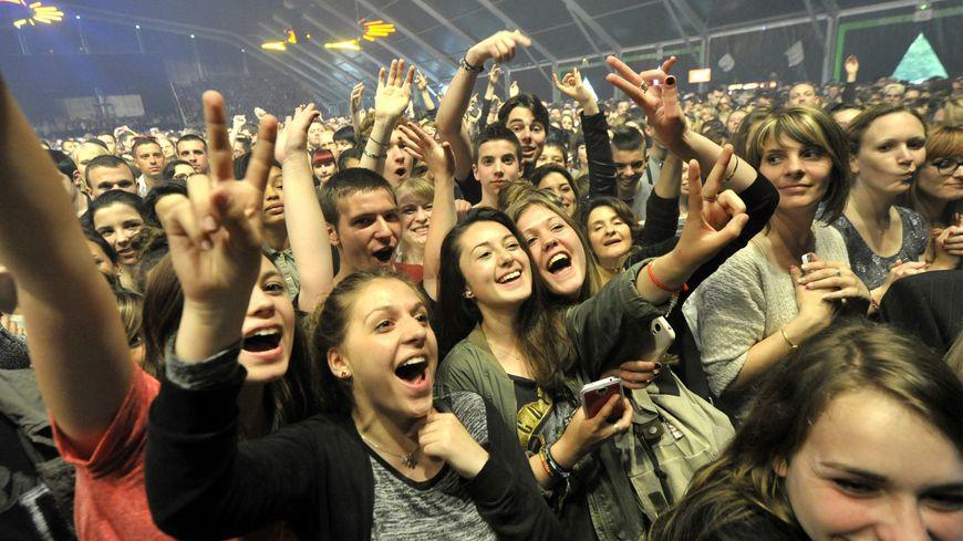 Le public lors des concerts du Printemps de Bourges (illustration)