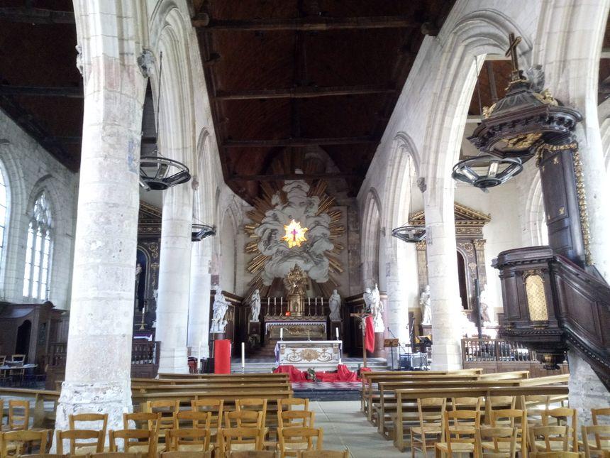 église St Leu Amiens