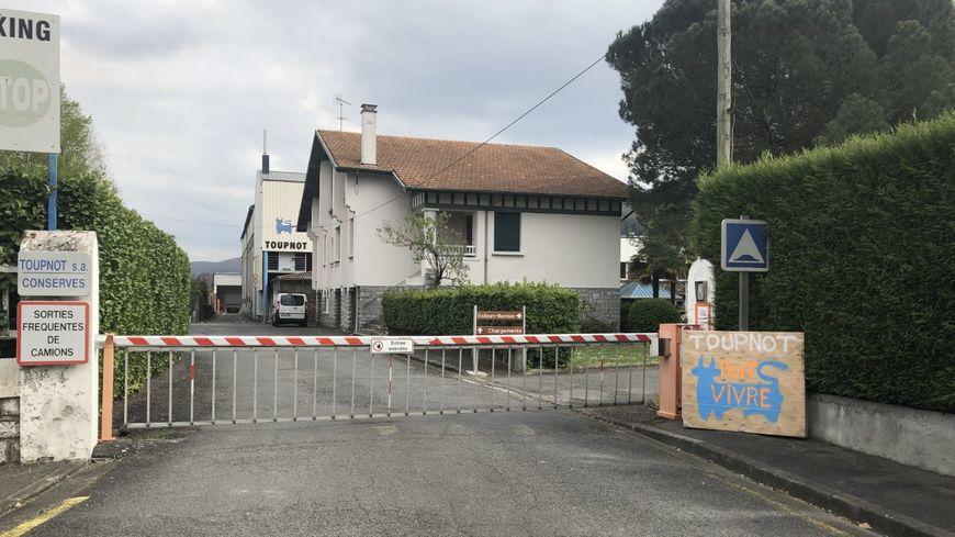 Usine Toupnot, à Lourdes (Hautes-Pyrénées)