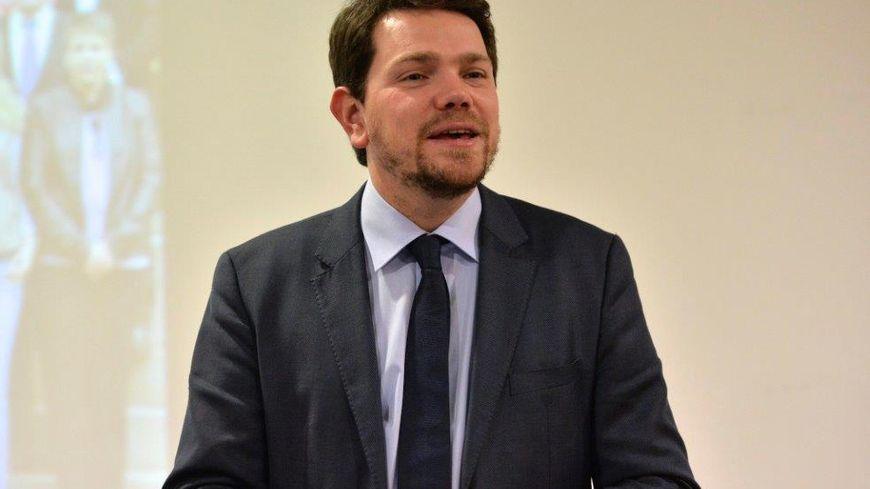 Le maire de Charleville-Mézières Boris Ravignon.