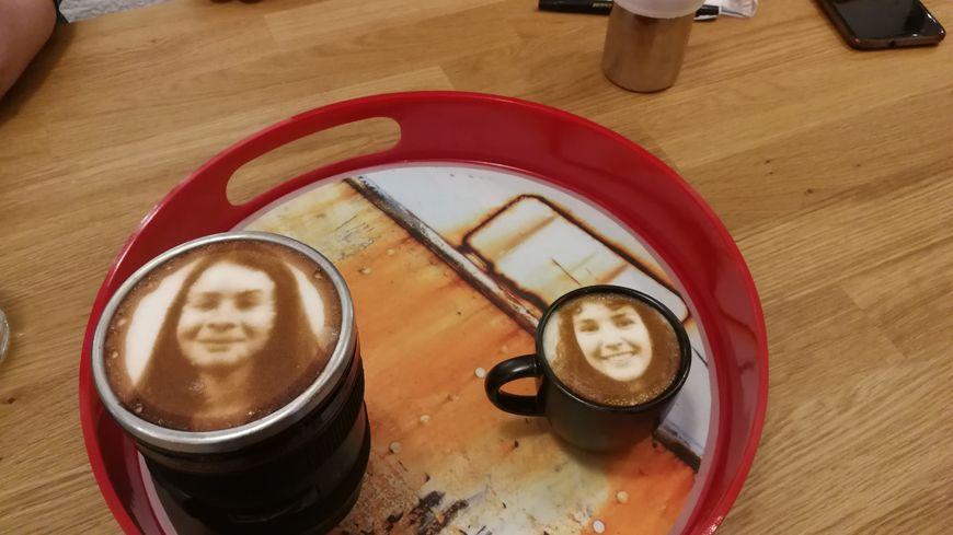 A Quimper, on imprime votre photo sur votre café !