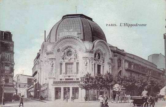 L'hippodrome de Montmartre.