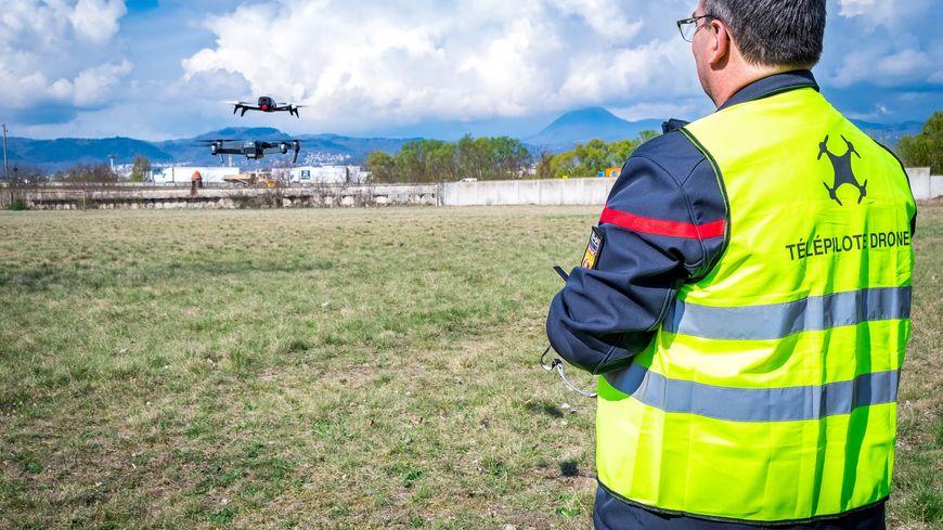 Les pompiers du Puy-de-Dôme viennent de créer leur unité drone