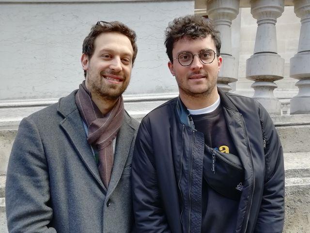 Quentin et Tanguy, deux cousins parisiens, fans de PNL depuis plusieurs années.