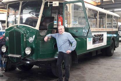 Michel Arlais président du Musée des transports urbains de France