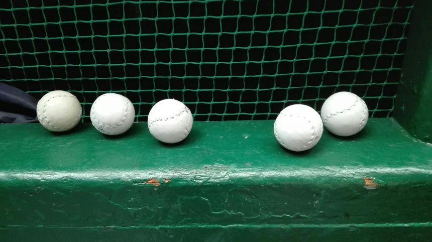 Les pelotes choisies font autour de 92 grammes.