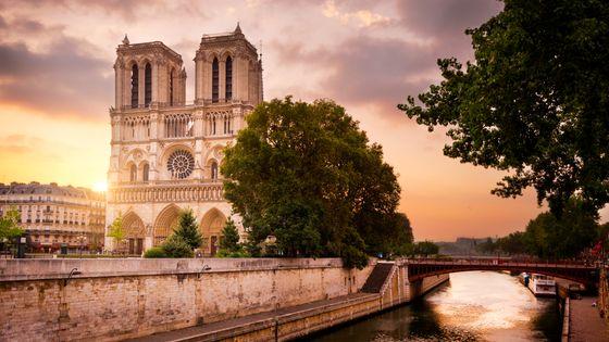 La cathédrale Notre-Damde de Paris
