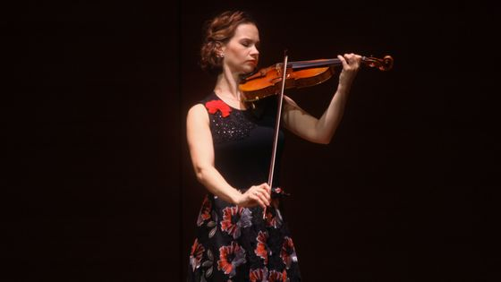 La violoniste Hilary Hahn