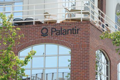 Le siège de Palantir, à Palo Alto, Californie (États-Unis).