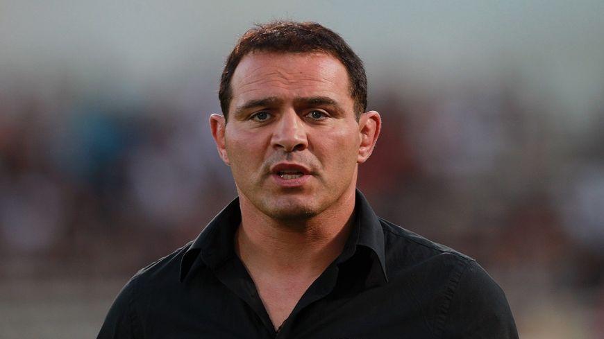 Raphaël Ibañez, alors entraîneur de Bordeaux/Bègles, en 2012.