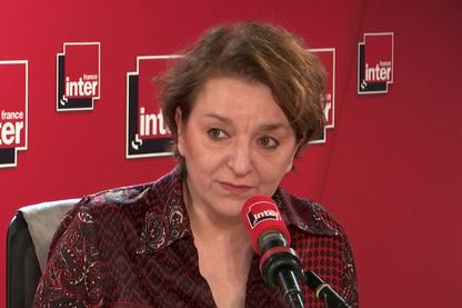 La sociologue Eva Illouz au micro de France Inter, le 11 avril 2019.