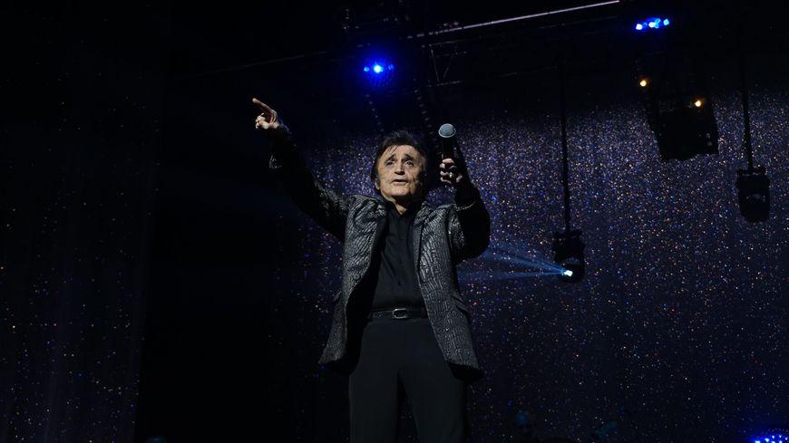 Dick Rivers a assuré le show lors de la tournée Age Tendre au Palio de Boulazac en 2018