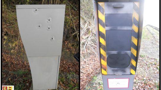 L'impact des balles sur le radar automatique