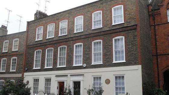 La résidence de la famille Mozart 180 Ebury Street