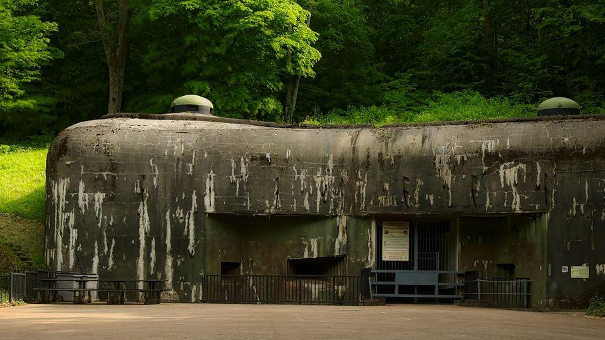 L' un des blocs du Galgenberg, l'un des ouvrages de la Ligne Maginot, situé à Cattenom