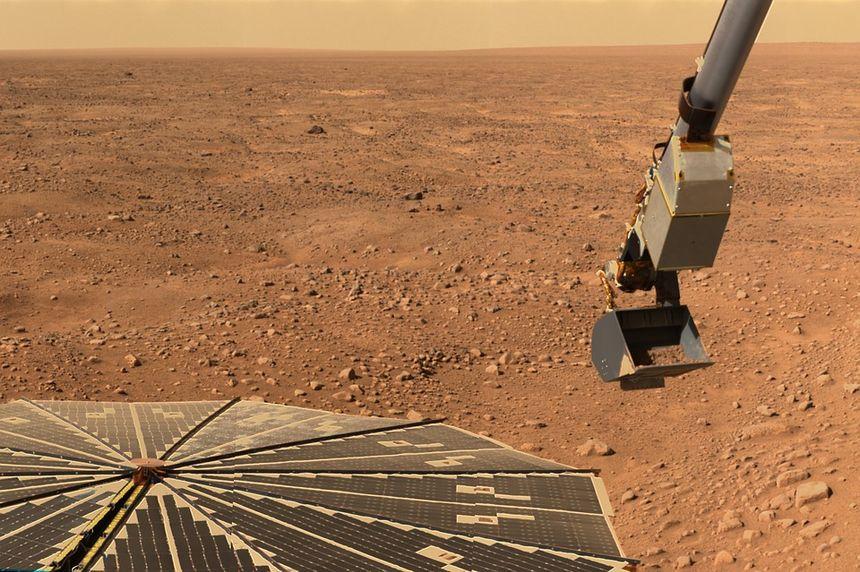 rover sur mars