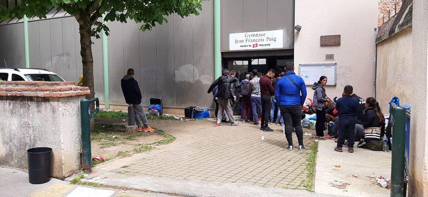 La grande majorité des migrants a été redirigée vers des centres d'accueil de demandeurs d'asile