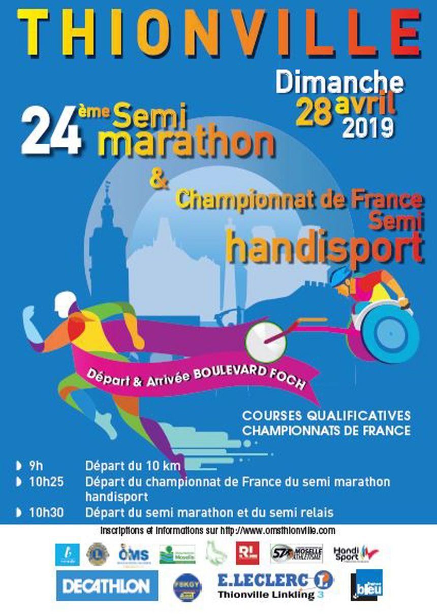 24ème édition Semi-Marathon de Thionville