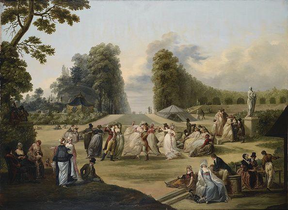 Bal dans les Tivoli, Paris, 1799.