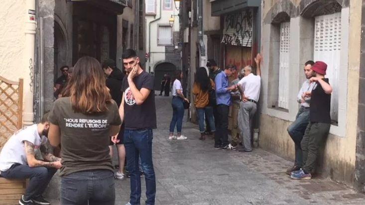 Clermont-Ferrand : tensions rue de la Treille pour l'ouverture du local de Bastion social