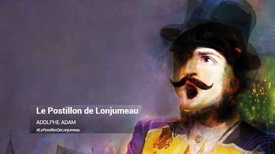 Visuel Le Postillon de Lonjumeau d'Adolphe Adam à l'Opéra Comique