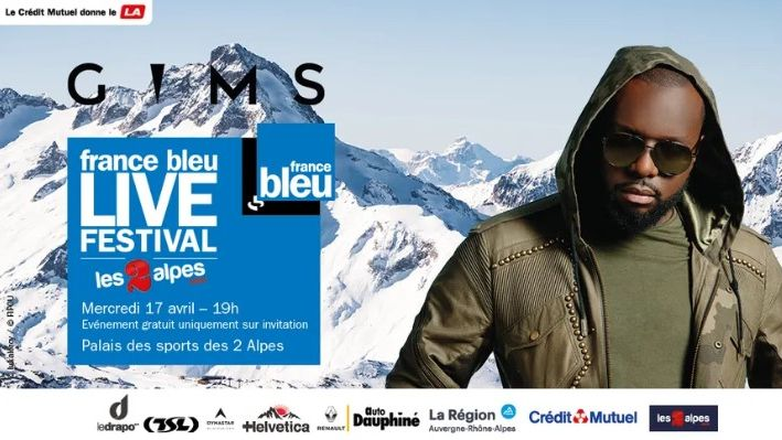 France Bleu Live Festival avec Gims