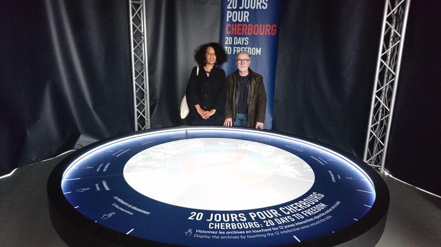 La scénographe Clémence Farrell et le réalisateur Yvonnick le Fustec ont travaillé pendant six mois sur cette exposition interactive.