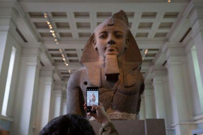Buste de Ramsès II au British Museum