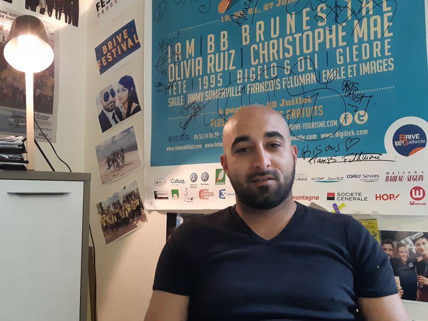 Malik Eddibi était en classe avec Nabil Andrieu au lycée Danton, à Brive