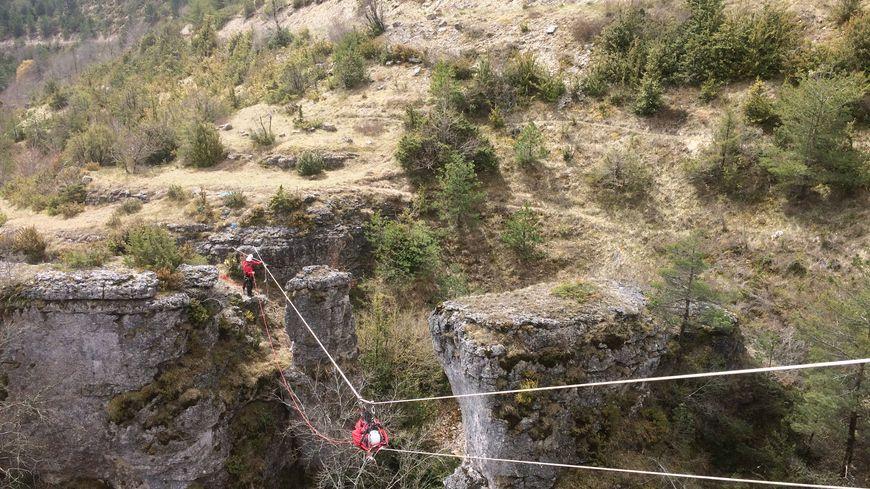 Un centre de formation au sauvetage en milieu périlleux à Florac