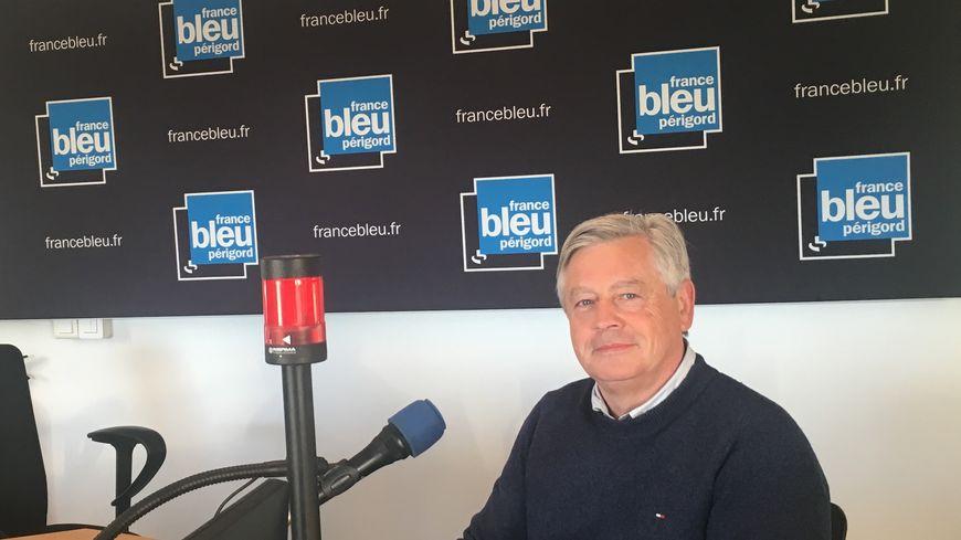 Patrick Palem invité ce mardi à 7h50 sur France Bleu Périgord.